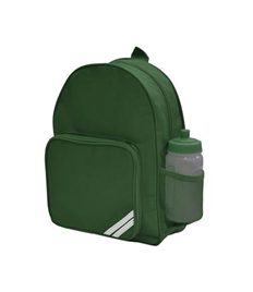 Clutton Primary Backpack with School Logo
