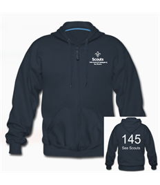 145th Scouts Group Junior Zipped Hoody