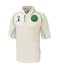 Oldbury C.C. 3/4 sleeve playing shirt
