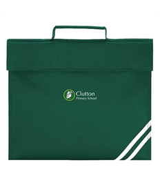 Clutton Primary Book Bag with School Logo