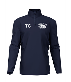 TCC juniors 1/4 zip performance top